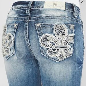 Miss me mid-rise easy straight Jeans NWT
